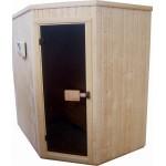 Сауна панелна изработена от смърч ъглова размери1.50х1.50х2.10м