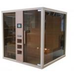 Сауна сглобяема Glass размери 1.50 x 1.50 x 2.10 м