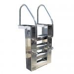Моноблок стълба двускоростен 20/50 м3/ч метален с топлообменник