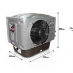 Термопомпа Aquaflow 5,4/23kW, монофазна